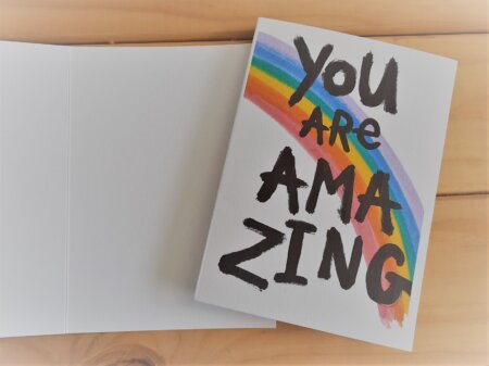 You are amazing gift card