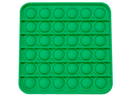 Push and pop square green