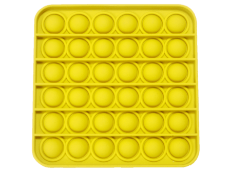 Push and pop square yellow