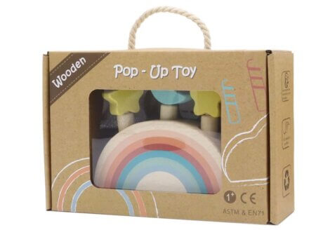 Calm and Breezy pop up toy box
