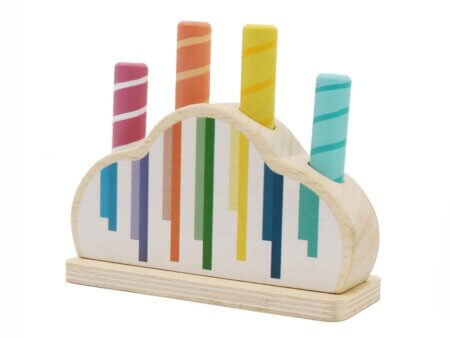 Calm and Breezy pop up wooden toy