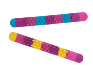 ER spikey slap band two colours