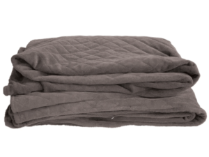 Minky weighted blanket cover