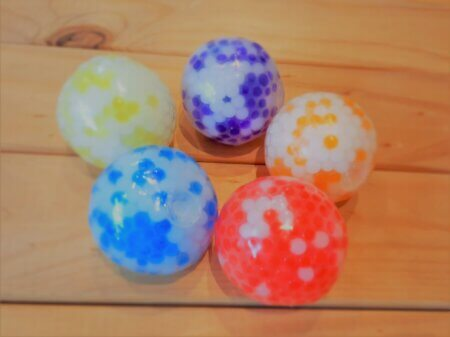 Two tone water orbs balls group