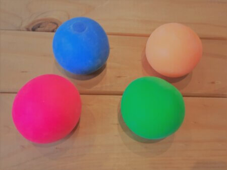 Mouldable Clay Stress Ball group