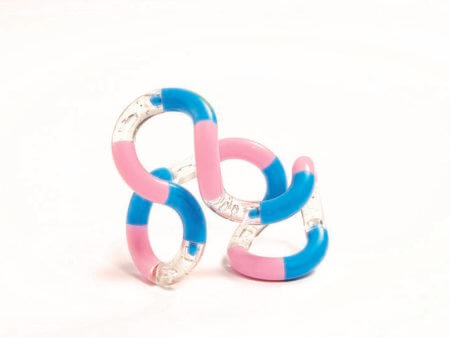 Tangle Classic pink clear