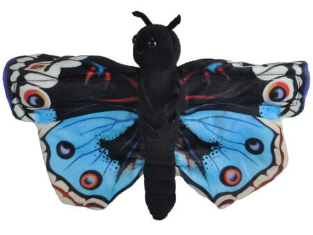 Huggers butterfly blue pansy